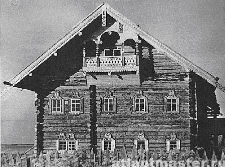История деревянного домостроения
