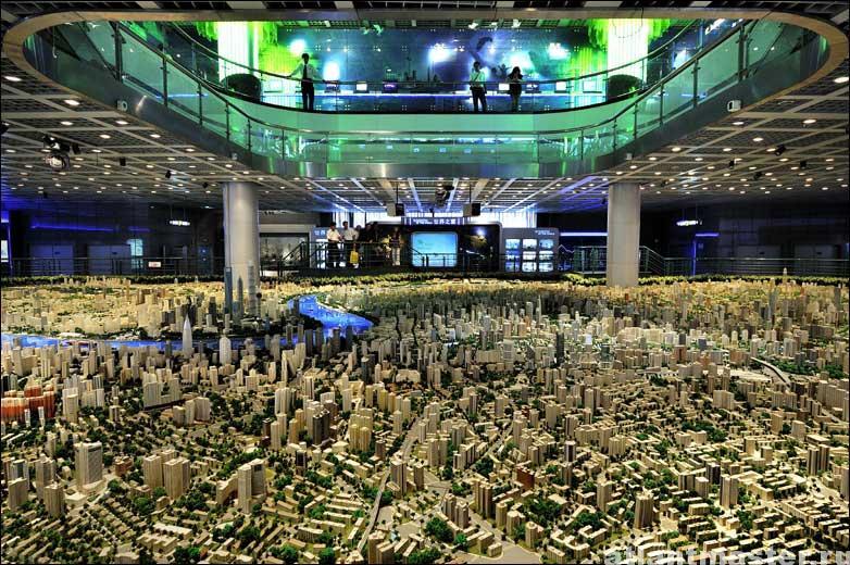 макет города