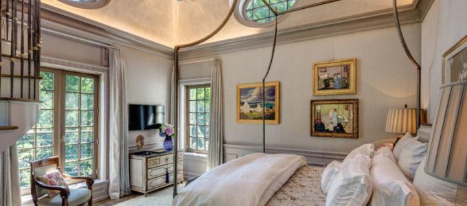 Спальни в разных стилях