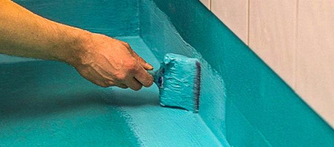 гидроизоляция ванной под стяжку