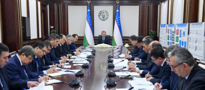 Шавкат Мирзиёев поручил составить рейтинг строительных предприятий