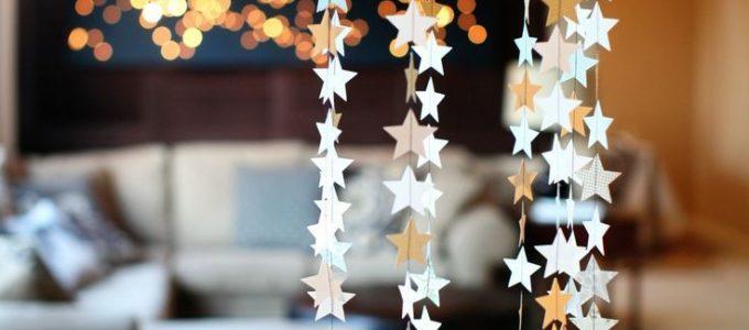 Идеи украшения комнаты к новому году