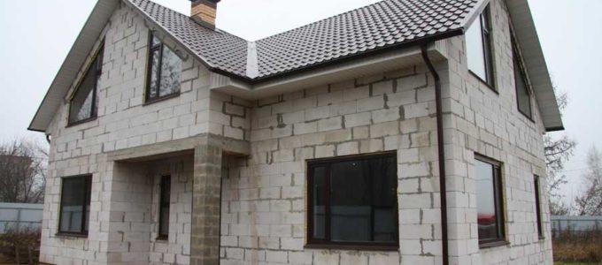 дом из пеноблоков плюсы минусы