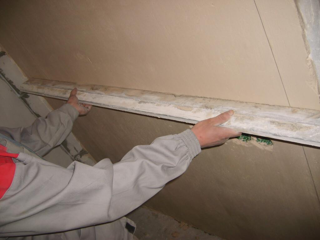 Подготовка поверхностей под штукатурку
