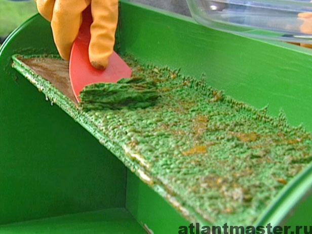 Как удалить краску