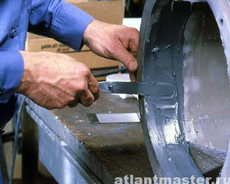 Замазка для металлов