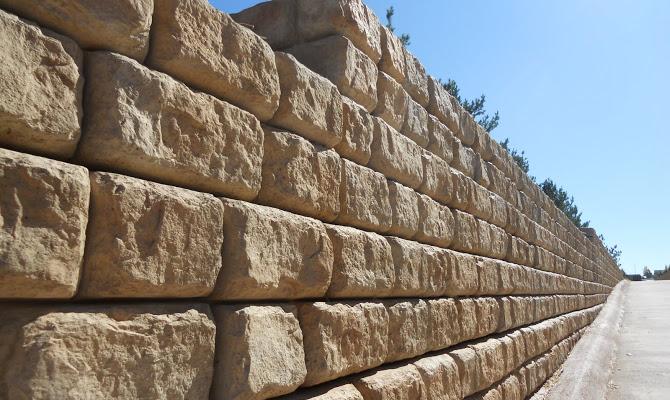 крупноблочные стены