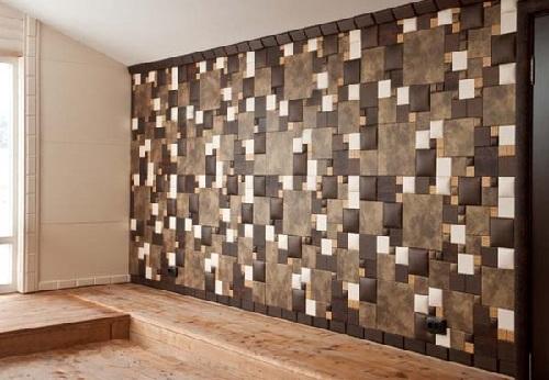 мягкая отделка стен