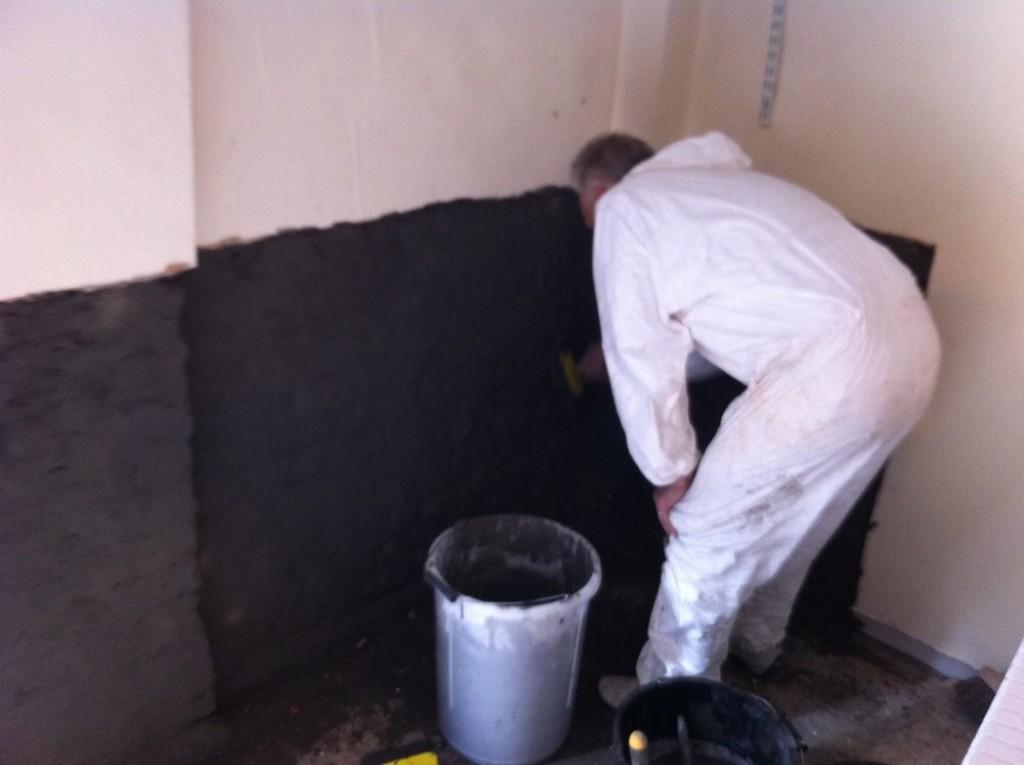 обработка стен от сырости