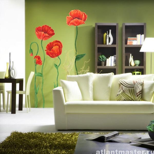 Цветы_на_стене5
