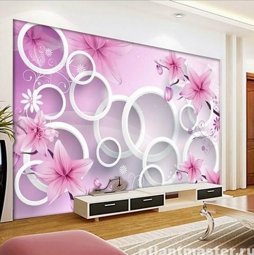 цветы_на_стене