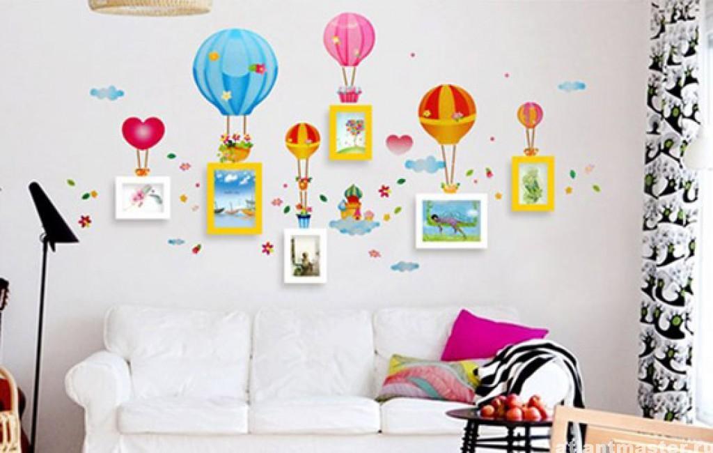 Как украсить пустую стену в комнате своими руками фото варианты 2