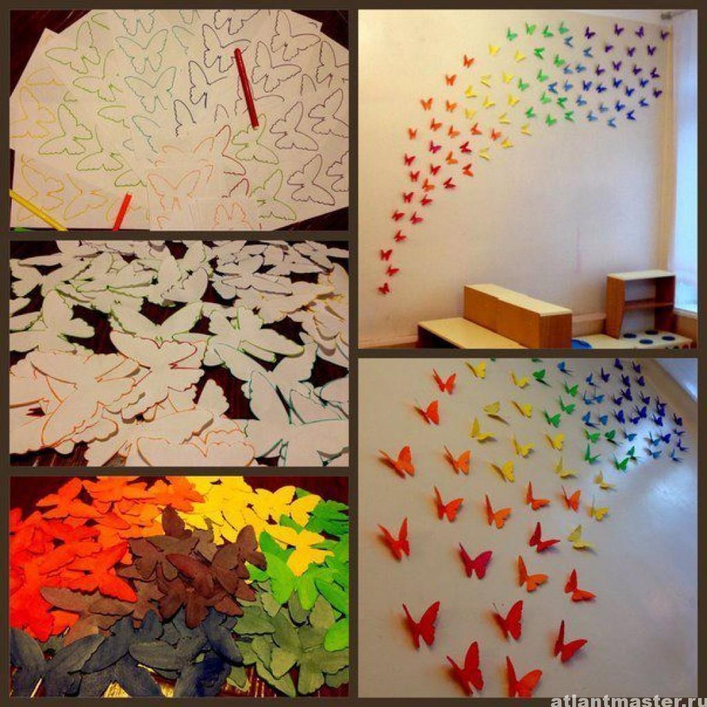 Декор комнаты своими руками - 12 лучших идей, красивый декор 17