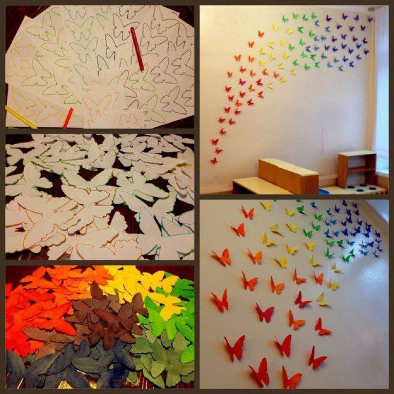 Как своими руками красиво украсить комнату