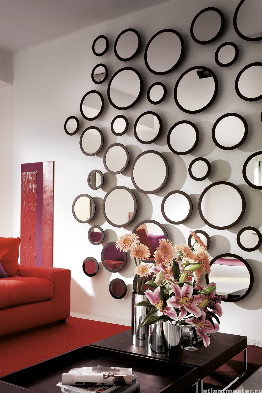 Декор настенных зеркал своими руками 78