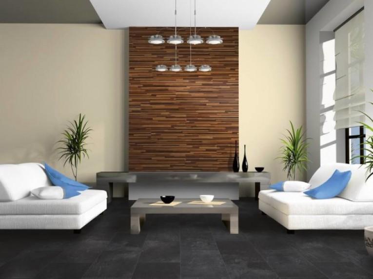 Декорирование стен ламинатом