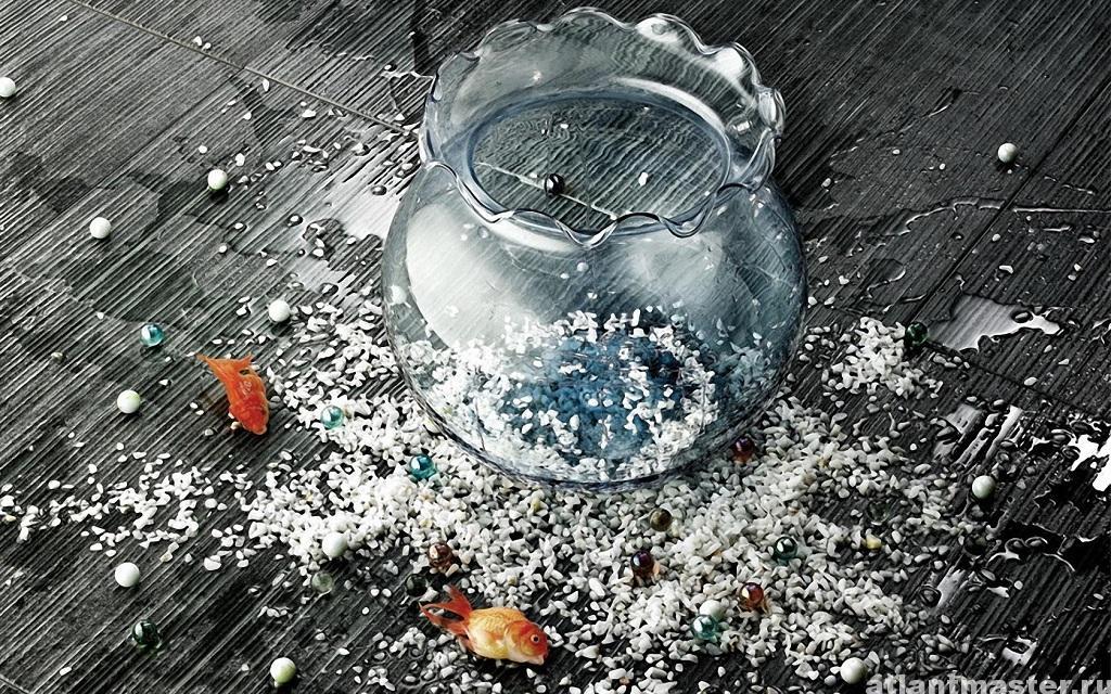 убрать_стекло