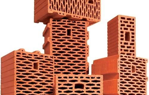 Поризованные керамические блоки