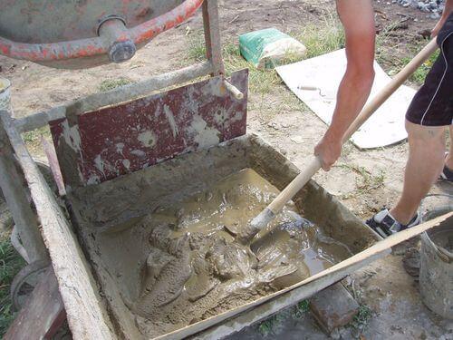 Цементные штукатурные растворы