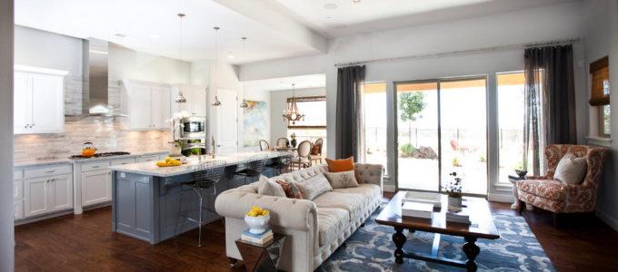 Кухня и комната