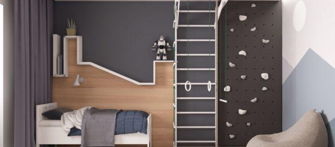 дизайн детской комнаты 10 кв м