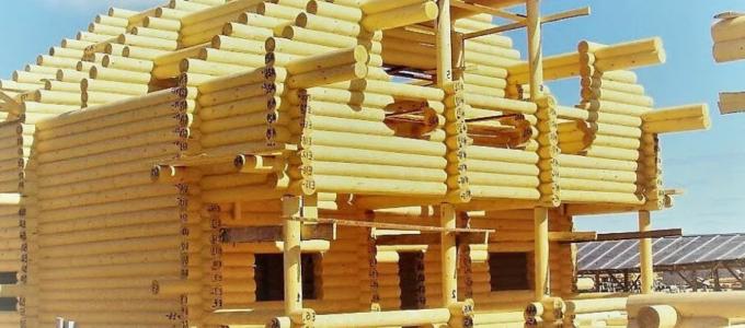 построить дом из бревна под ключ