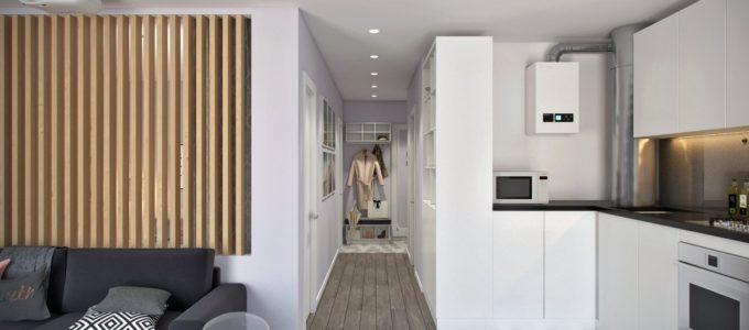 Дизайн маленькой квартиры – 41,5 кв.м.