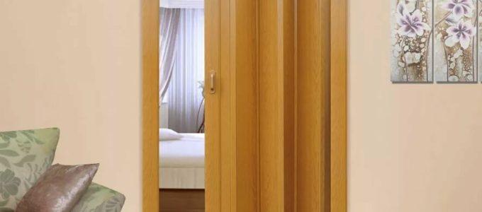 Дверь-гармошка плюсы минусы