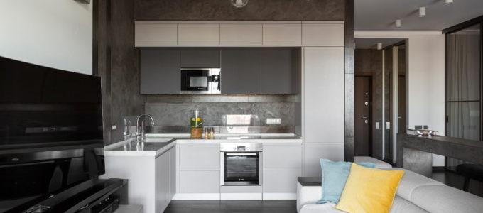 Дизайн кухни – гостиной: основные приемы