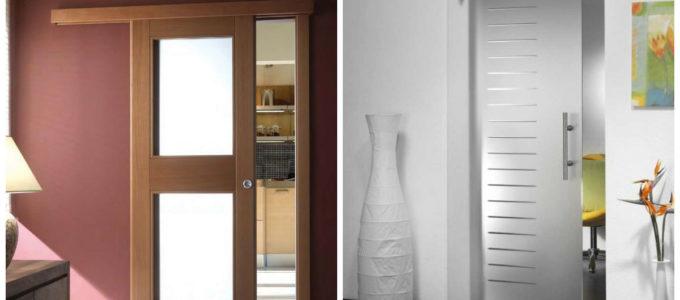 установка раздвижных межкомнатных дверей