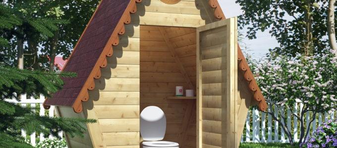 Обустройство туалета на даче