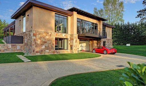 объединять дом с гаражом